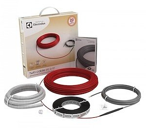 теплые полы из кабеля от электролюкс