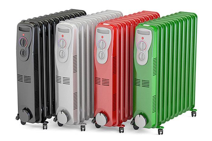 Переносные радиаторы масляного типа относятся к устаревшему типу с невысокой энергоэффективностью