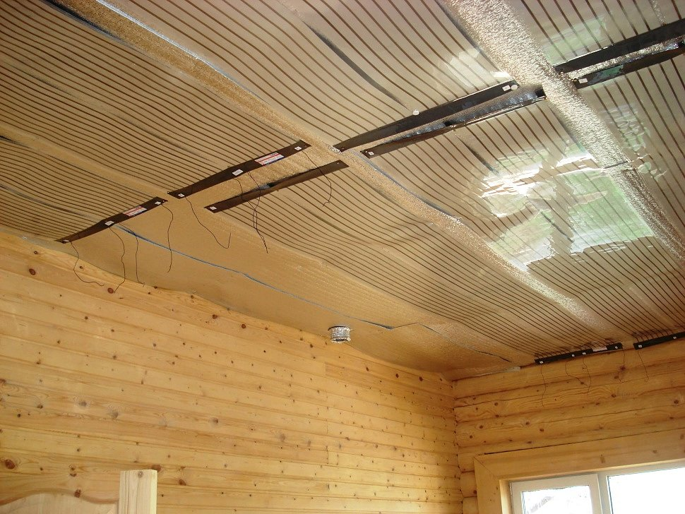 Пленочные потолочные ИК обогреватели